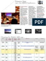 Mobile Audience Response in Medical Education - handout