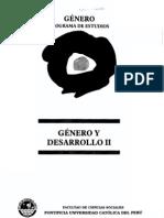 Babb Florence Mujeres y Hombres en Vicos Peru Un Caso de Desarrollo Desigual en Genero y Desarrollo II