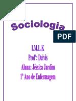 Jéssica Jardim Faria (1º ano de enfermagem) ( I.M.L.K) sociologia