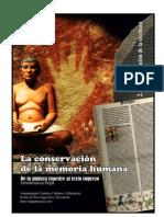 La conservación de la memoria humana. 2. La consolidación de la escritura
