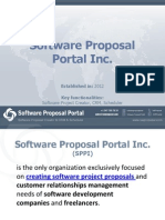 Software Proposal Portal Inc.