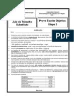 ESAF - 2005 - TRT - 7ª Região (CE) - Juiz - Prova 2