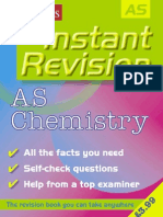 AS (GCE) Instant Revision of Chemistry