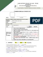 Examen Parcial Ingles Viii Setiembre 2012