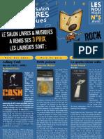 335 - Prix Livres Et Musiques Deauville 2009
