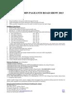 El John Pageants Road Show 2013