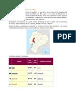 La Provincia y Sus Cantones