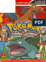 Pokemon FireRed-LeafGreen Official Guide