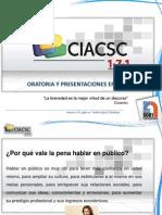 Oratoria y Presentaciones Eficaces (Copia)