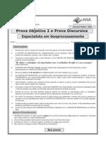 ESAF - 2009 - ANA - Especialista Em Geoprocessamento