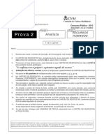 ESAF - 2010 - CVM - Analista - Recursos Humanos - Prova 2
