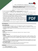 Senior Network Administrator Resume Sample Data Center Computer