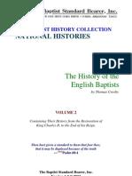 Crosby - History of the English Baptists Vol 2