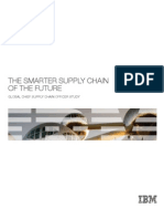 Smarter Supply Chain Of Future - An IBM Survey