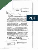Declassified CIA File - Disposal of KIBITZ-171 (Oct 24 1952)