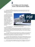 Tenth Amendment Sovereignty Movement
