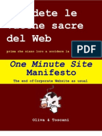 One Minute Site Manifesto