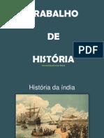 História - Índia