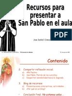 Recursos para presentar a San Pablo en el aula