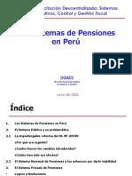 Exposicion Sistemas de Pensiones Ne El Peru