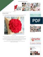 Cluck Cluck Sew_ Petal Pillow Tutorial