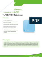TL WR702N Datasheet