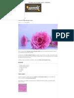 Como Fazer Rosas Com Papel Crepom - O Artesanato