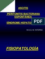 ascitis, PBE, hepatorenal