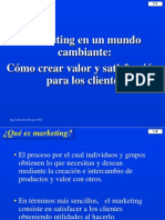 1. Marketing en Un Mundo Cambiante