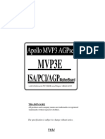 EPOX EP-MVP3E Mainboard Manual - Chapter 1