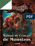 Tormenta RPG - Manual de Criação de Monstr000os - Taverna do Elfo e do Arcanios