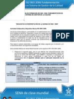 129039404 Actividad de Aprendizaje Unidad 3 Requisitos e Interpretacion de La Norma ISO 90012008