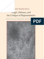 Hegel, Deleuze and the Critique of Representation