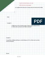 Work & Power Notes PDF