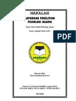 Lapangan Penelitian Psikologi Agama