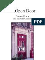 Harvard Crimson Financial Aid