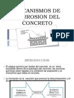 Corrosión del concreto - Tecnología del concreto I y II