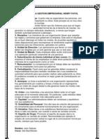 14 Principios de La Gestion Empresarial Henry Fayol