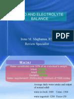 Fluid and Electrolytes Burns G.U.