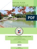 Analisis Contextual Plaza Interior Parque Mirador Sur Luis Perez [Autoguardado]