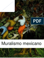Antecedentes Muralismo mexicano - Diego Rivera