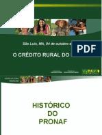 1 Credito Rural Do Pronaf