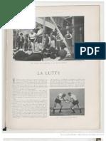French Wrestling 1905