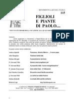 FIGLIOLI E PIANTE DI PAOLO  no.115 giugno 2013