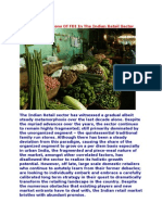 The Pros and Cons of FDI in the Indian Retail Sector