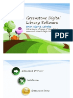 Greenstone digital library software
