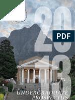 UCT Undergraduate Prospectus 2013