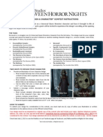 HHN Character Design Fan Contest Rules 2013