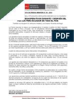 PNP EJECUTÓ MEGAOPERATIVOS DURANTE Y DESPUÉS DEL PARTIDO PERÚ-ECUADOR EN TODO EL PAÍS