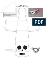 Lornalove Papercraft Skull